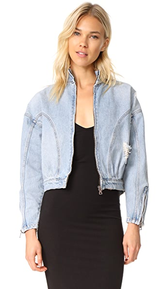 Won Hundred Gaby Denim Jacket In Blue