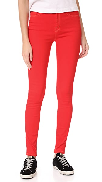 Won Hundred Marilyn Skinny Jeans In Red