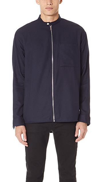 Won Hundred Gannon Zip Shirt