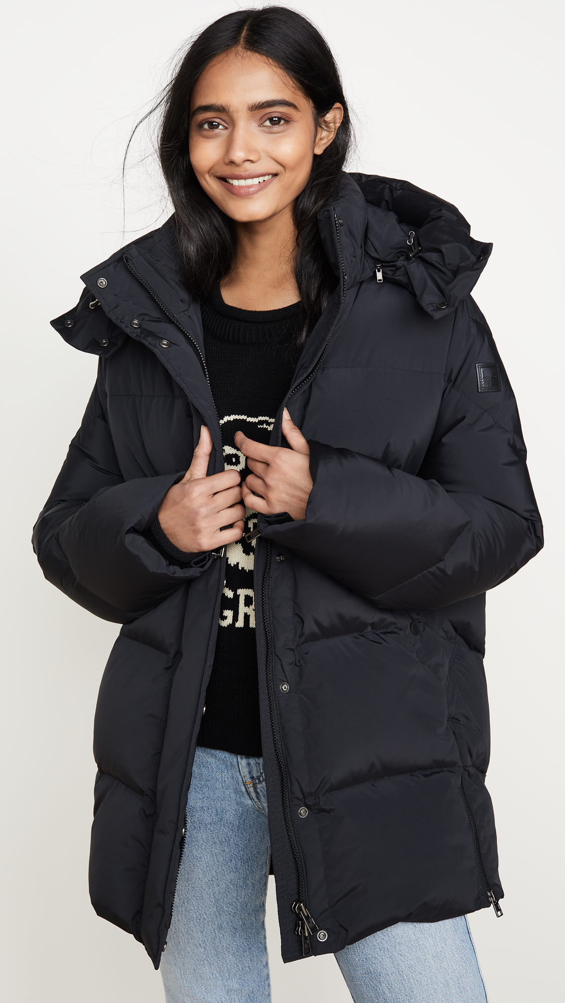 woolrich puffy coat