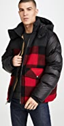 Woolrich Buffalo Check Bomber Jacket