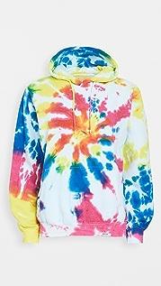 Worthy Threads Multi Tie Dye Hoodie