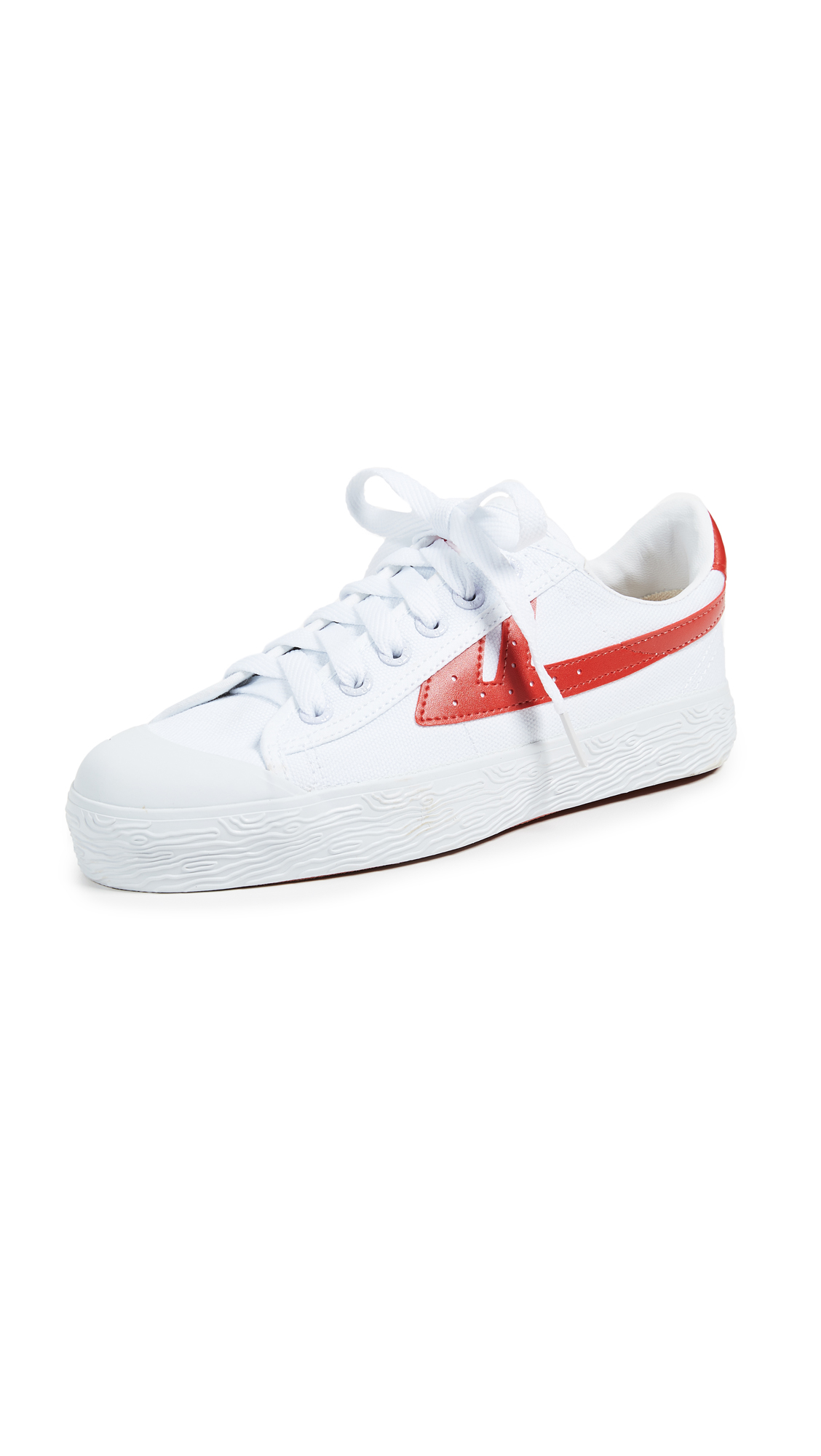 WOS33 Classic Sneakers - White/Red