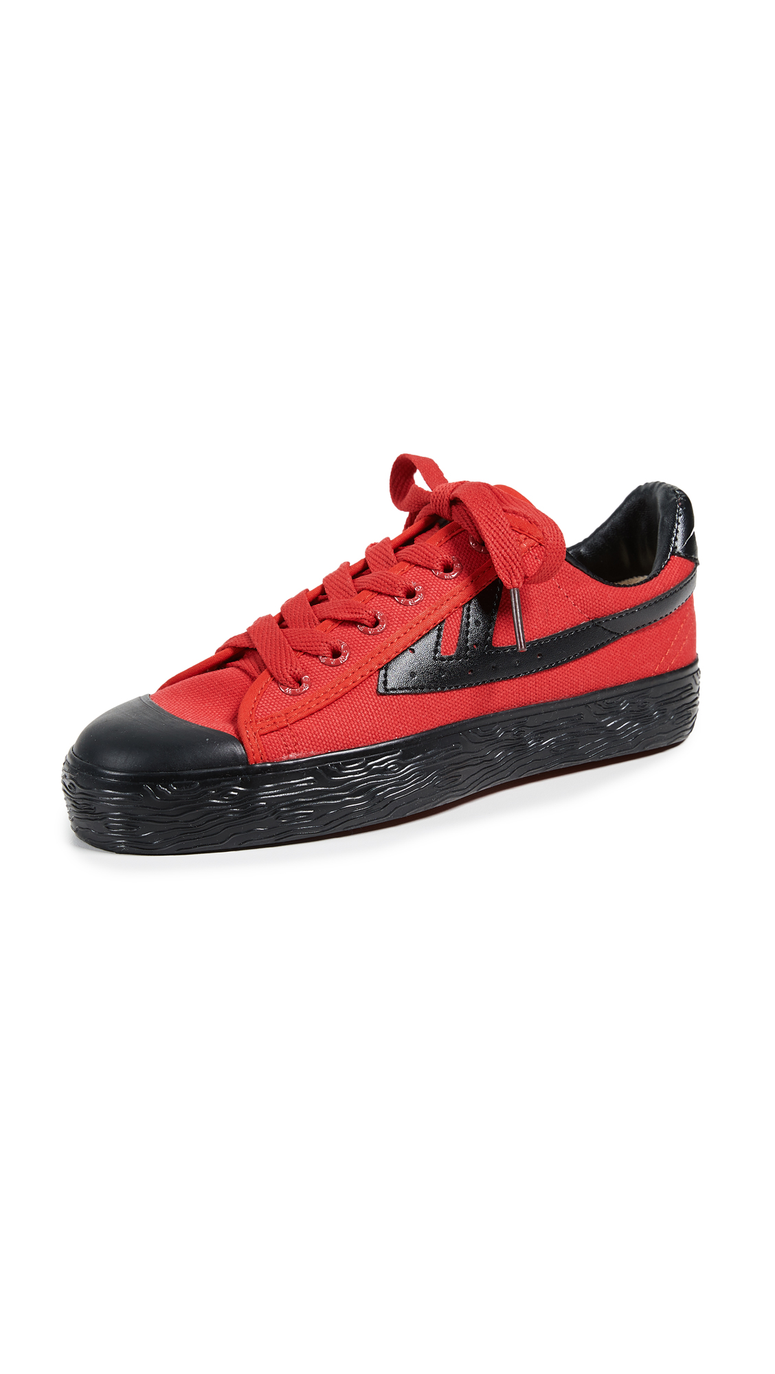 WOS33 Classic Sneakers - Red/Black