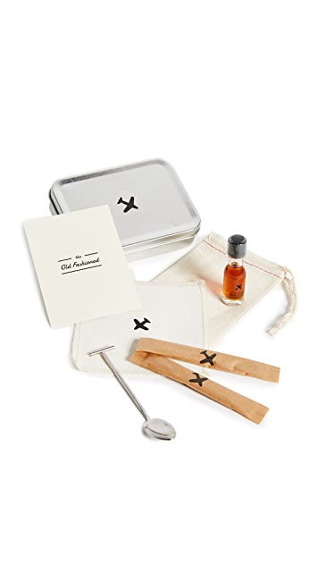 W&P Design The Old Fashioned Carry On Cocktail Kit