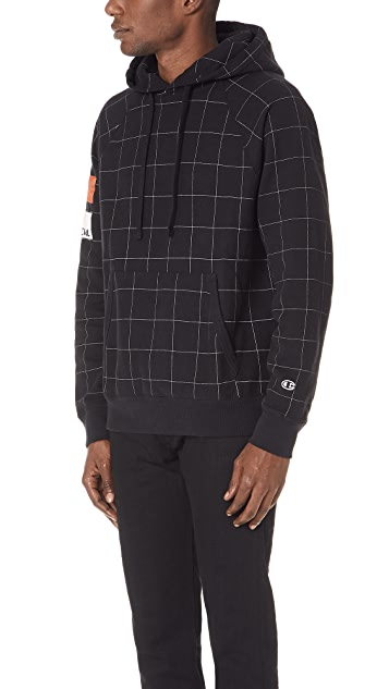 Wood Wood X Champion Hooded Sweatshirt