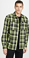 Wood Wood Franco Plaid Overshirt