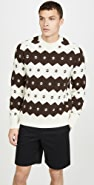 Wood Wood Kevin Fair Isle Sweater