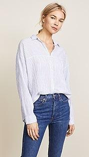 XIRENA Рубашка на пуговицах Ellis