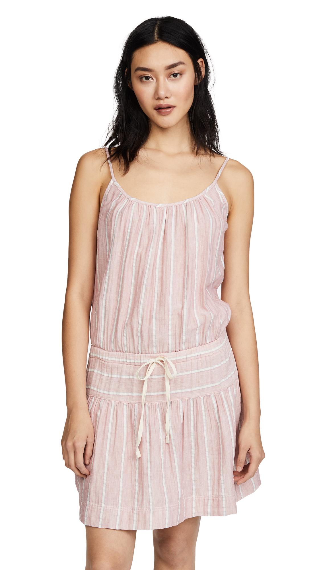 XIRENA Charlie Saskia Dress - Coral Pink
