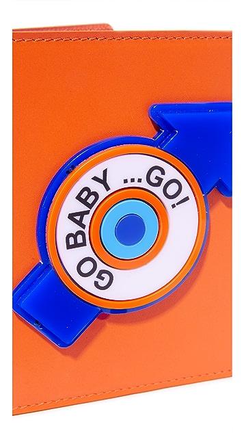 Yazbukey Go Baby Go Passport Case