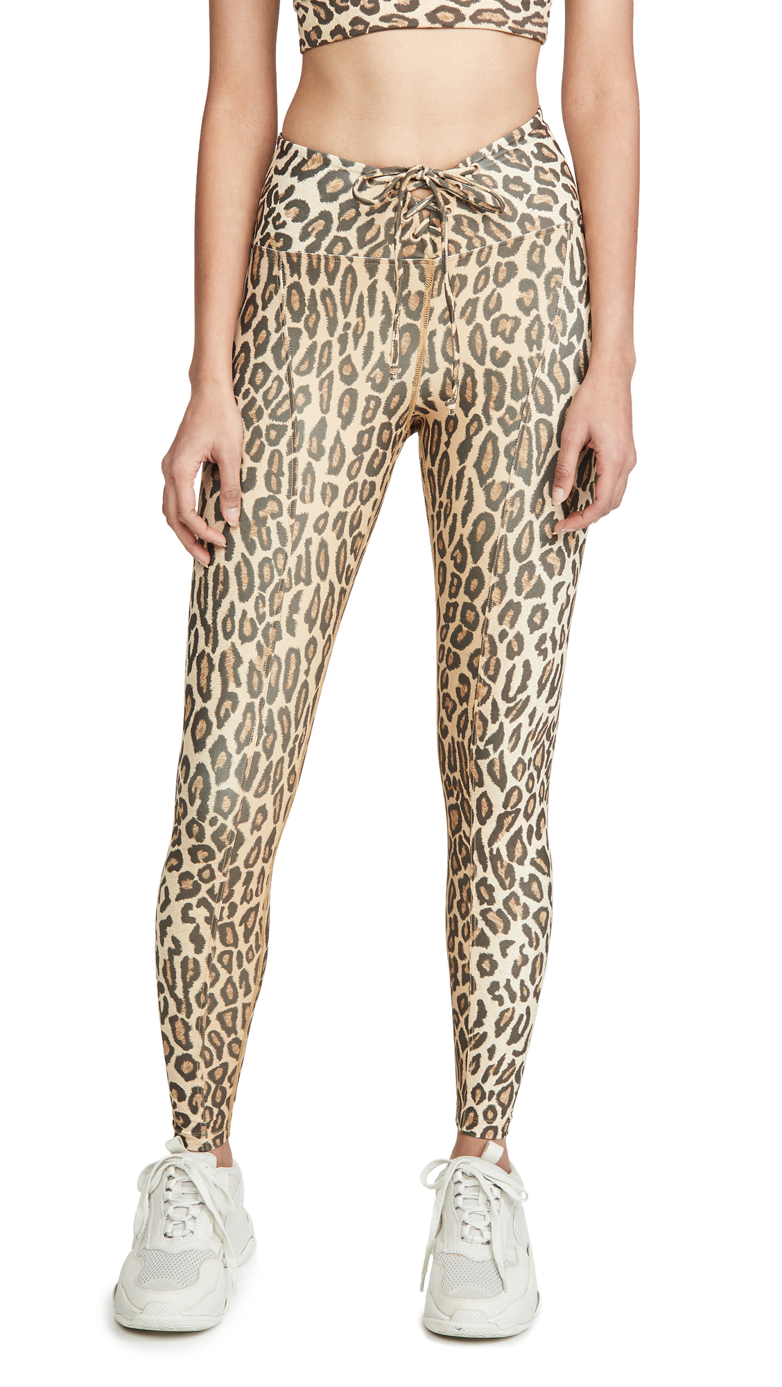 Buy Year of Ours online - photo of Year of Ours Leopard Print Football Leggings