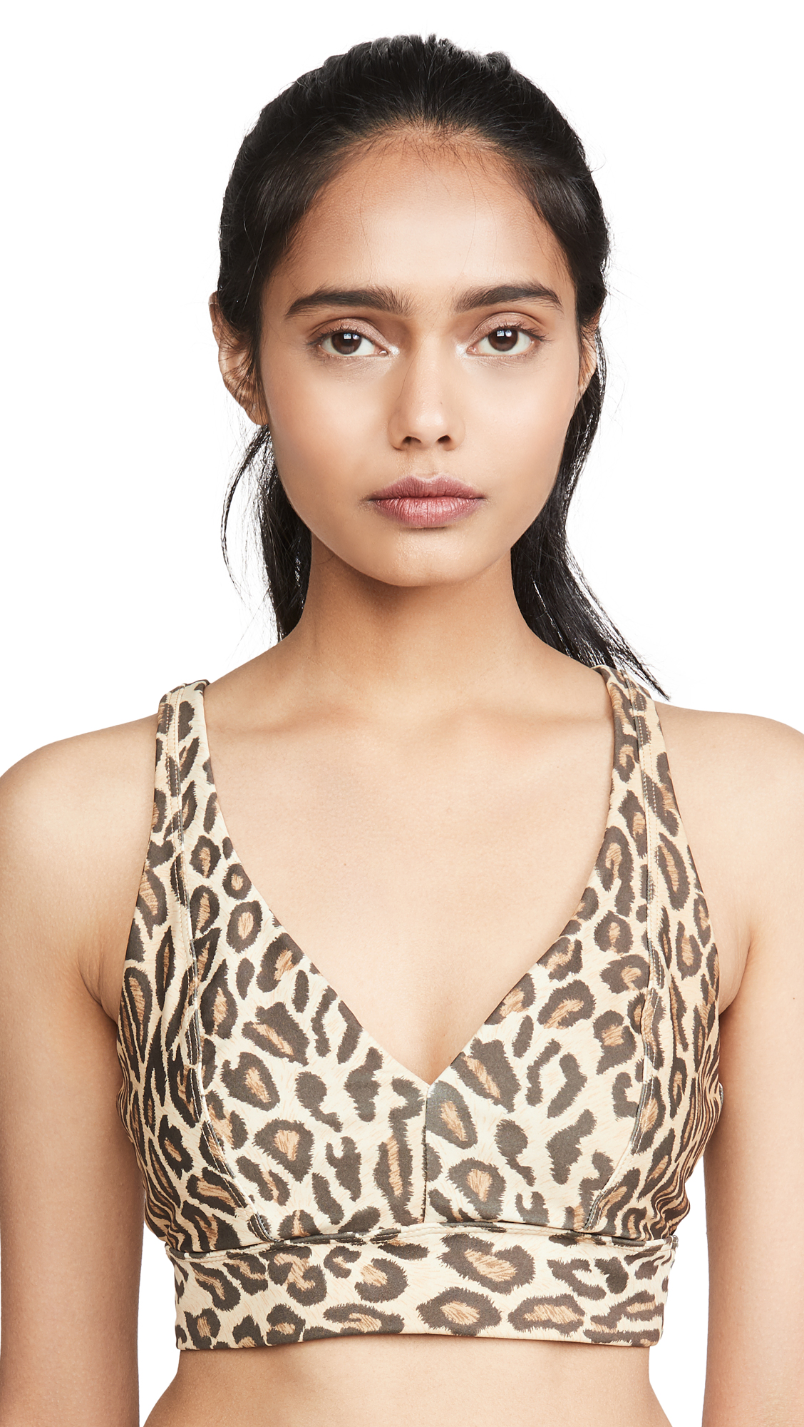 Buy Year of Ours online - photo of Year of Ours Leopard Print Victoria Bra
