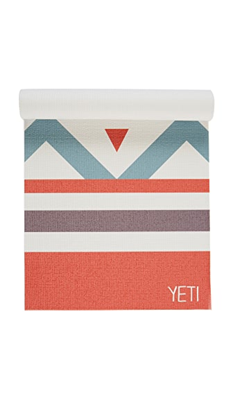 Yeti Yoga The Aries Yoga Mat - Red Multi