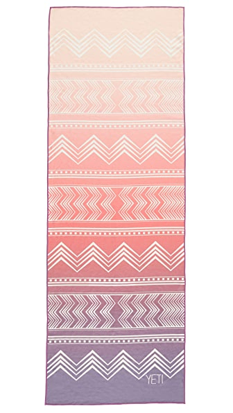 Yeti Yoga The Cassady Towel Mat - Pink Multi