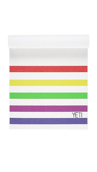 Yeti Yoga The DY Yoga Mat - Multi/White