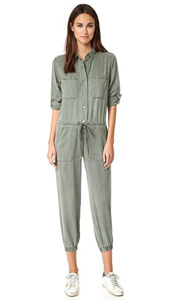 Young Fabulous & Broke YFB Clothing Lane Jumpsuit - Balsam