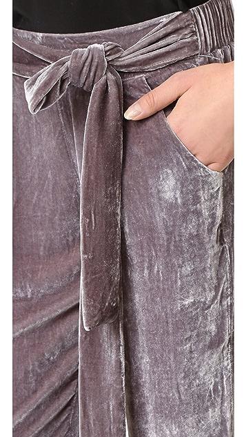 Young Fabulous & Broke Ciarra Velvet Pants
