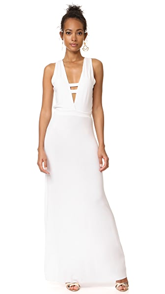 Young Fabulous & Broke Carolyn Maxi Dress - White