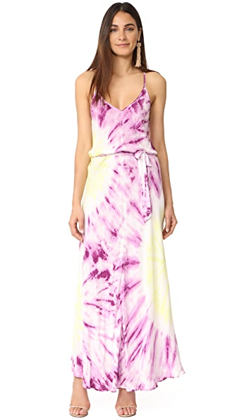 Young Fabulous & Broke Carla Maxi Dress - Purple Splash