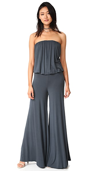 Young Fabulous & Broke Sydney Jumpsuit In Charcoal