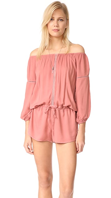 Young Fabulous & Broke YFB Clothing Emmie Romper
