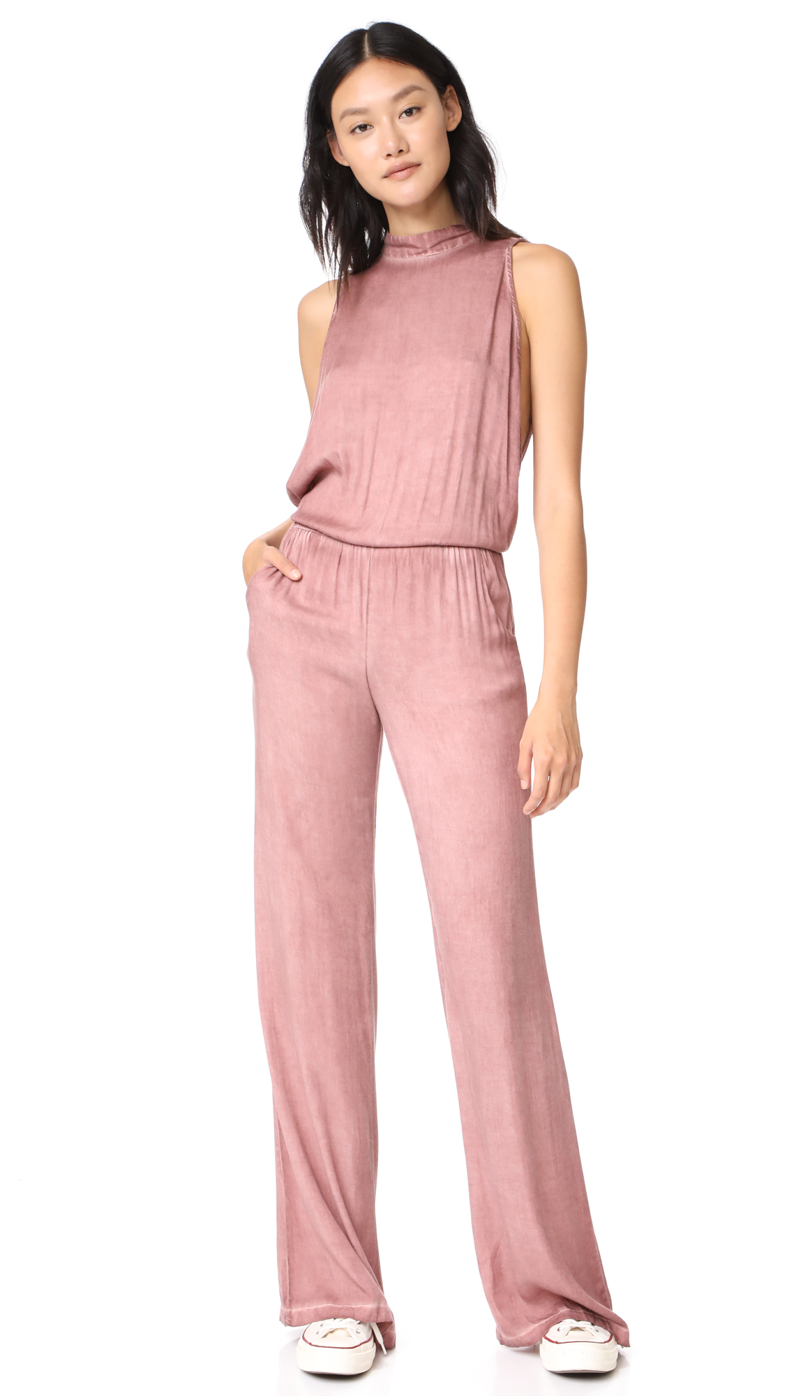 Young Fabulous & Broke Cammy Jumpsuit - Rust