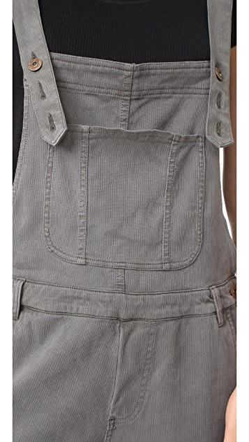 Young Fabulous & Broke YFB Clothing Slim Overalls