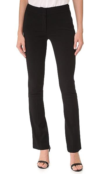 Yigal Azrouel Эластичные расклешенные брюки Tech