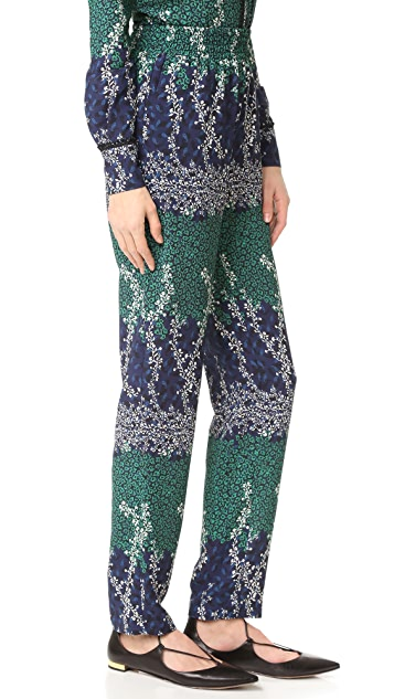 Yigal Azrouel Trellis Printed Pants