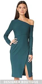 One Shoulder Dress Yigal Azrouel
