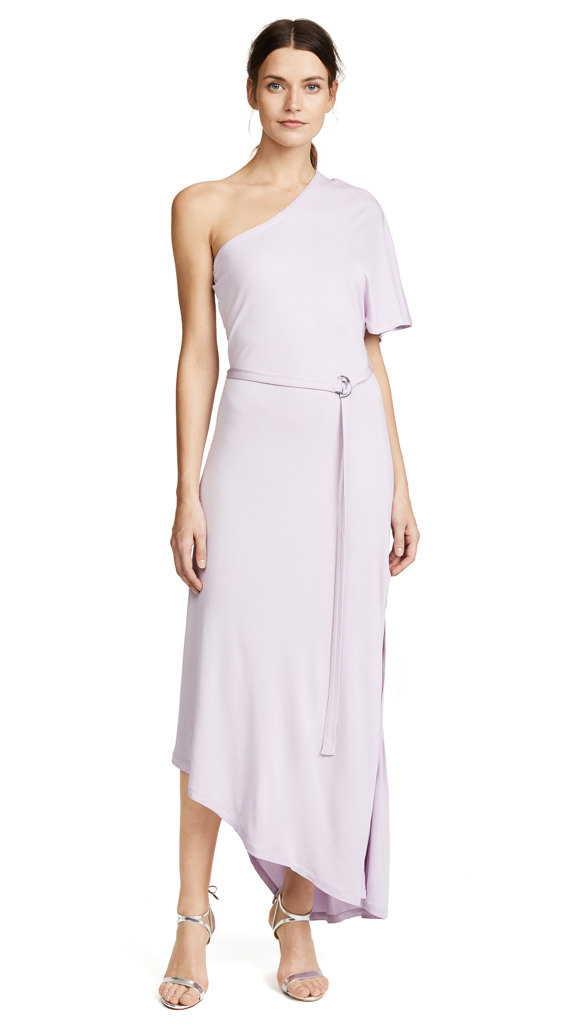 Yigal Azrouel One Shoulder Dress in Matte Jersey