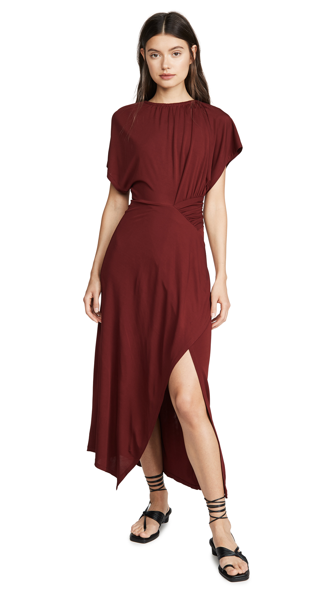 Buy Yigal Azrouel online - photo of Yigal Azrouel Asymmetric Shirred Dress
