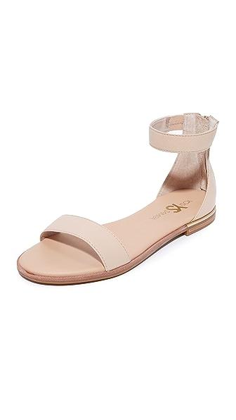 Yosi Samra Cambelle II Sandals In Nude