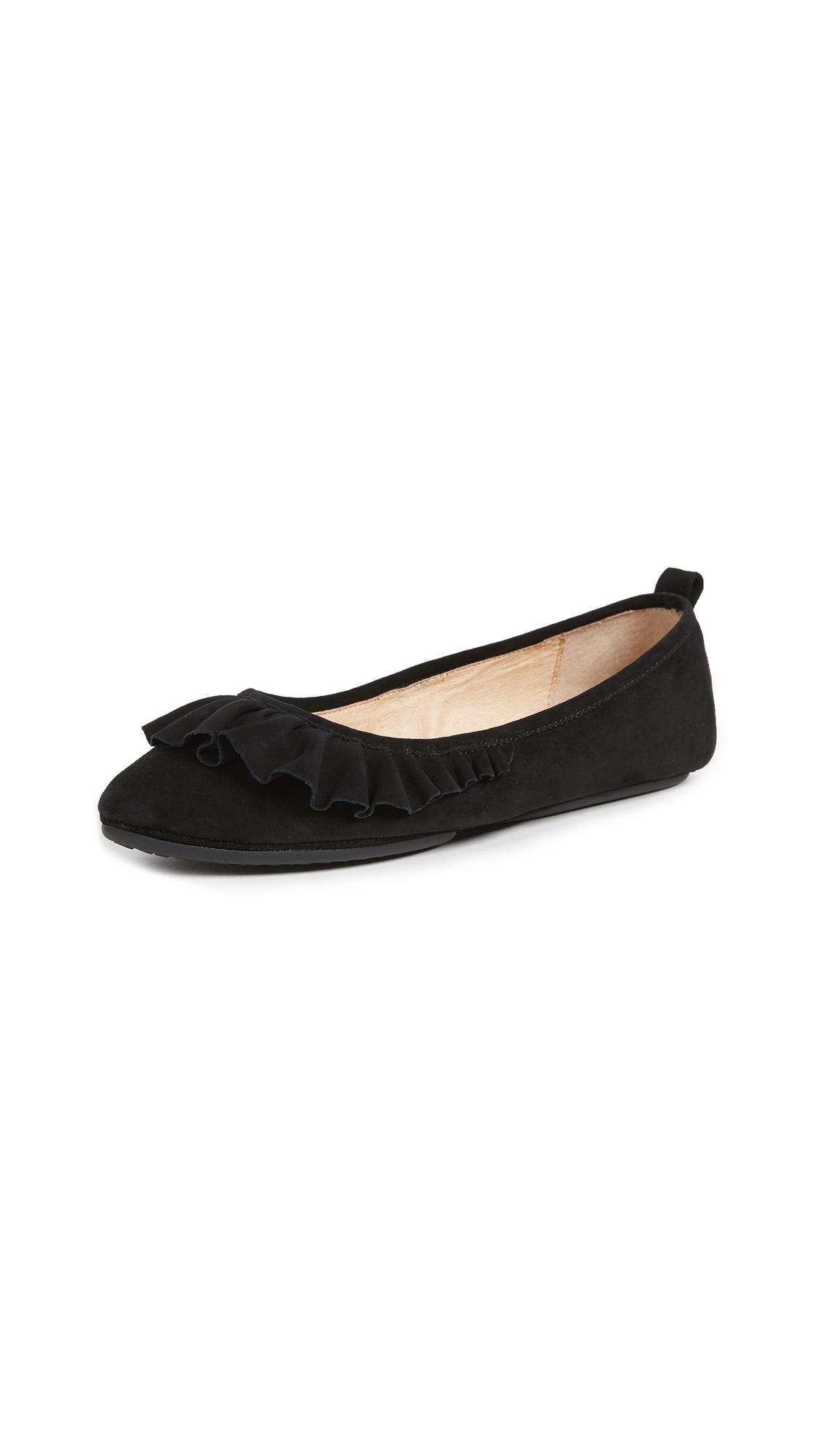 Yosi Samra Vanessa Ballet Flats - Black