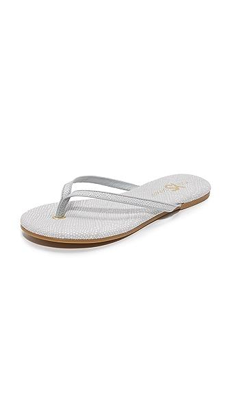 Yosi Samra Rivington Flip Flops - White