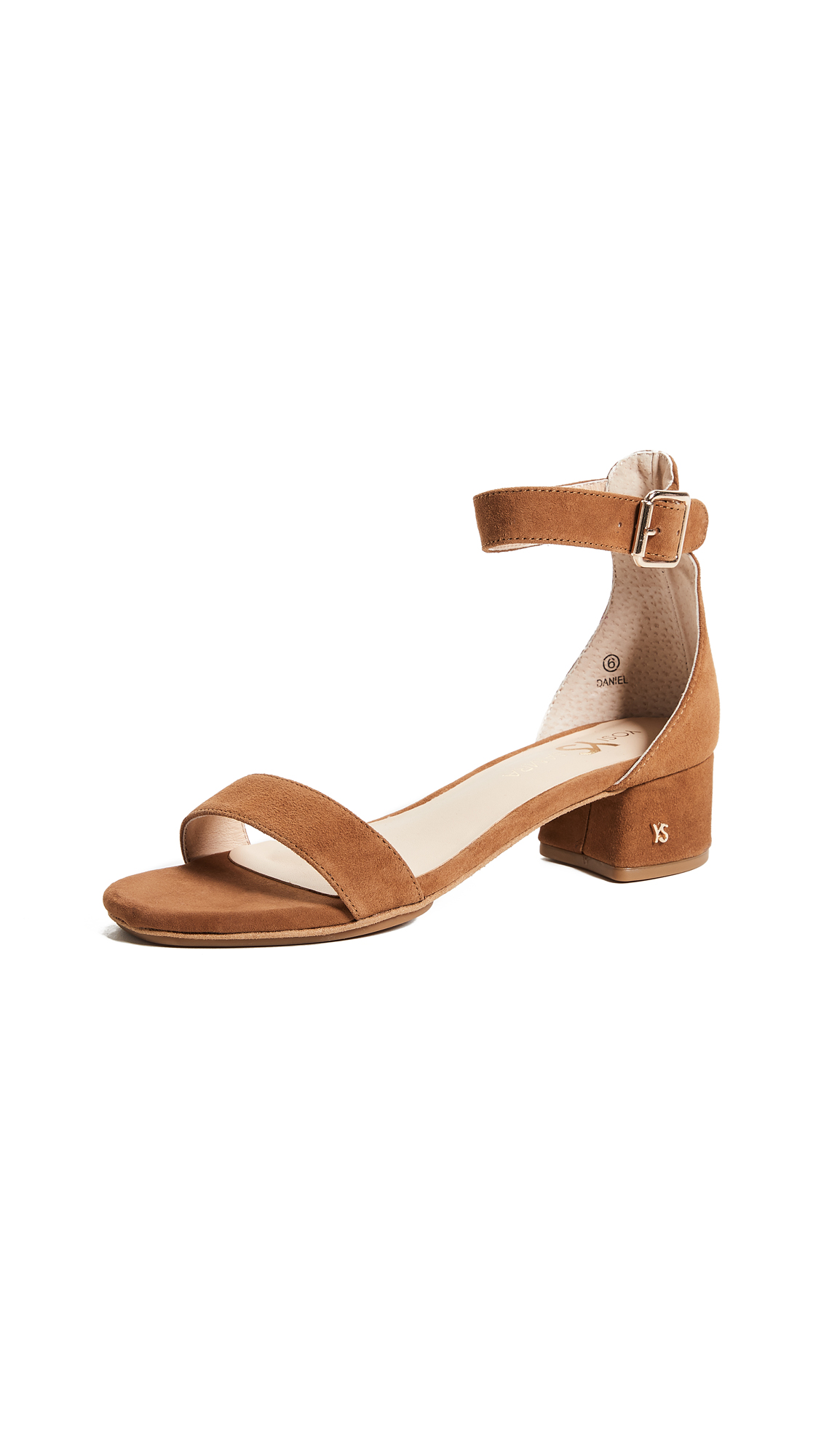 Yosi Samra Daniel Sandals In Bone Brown