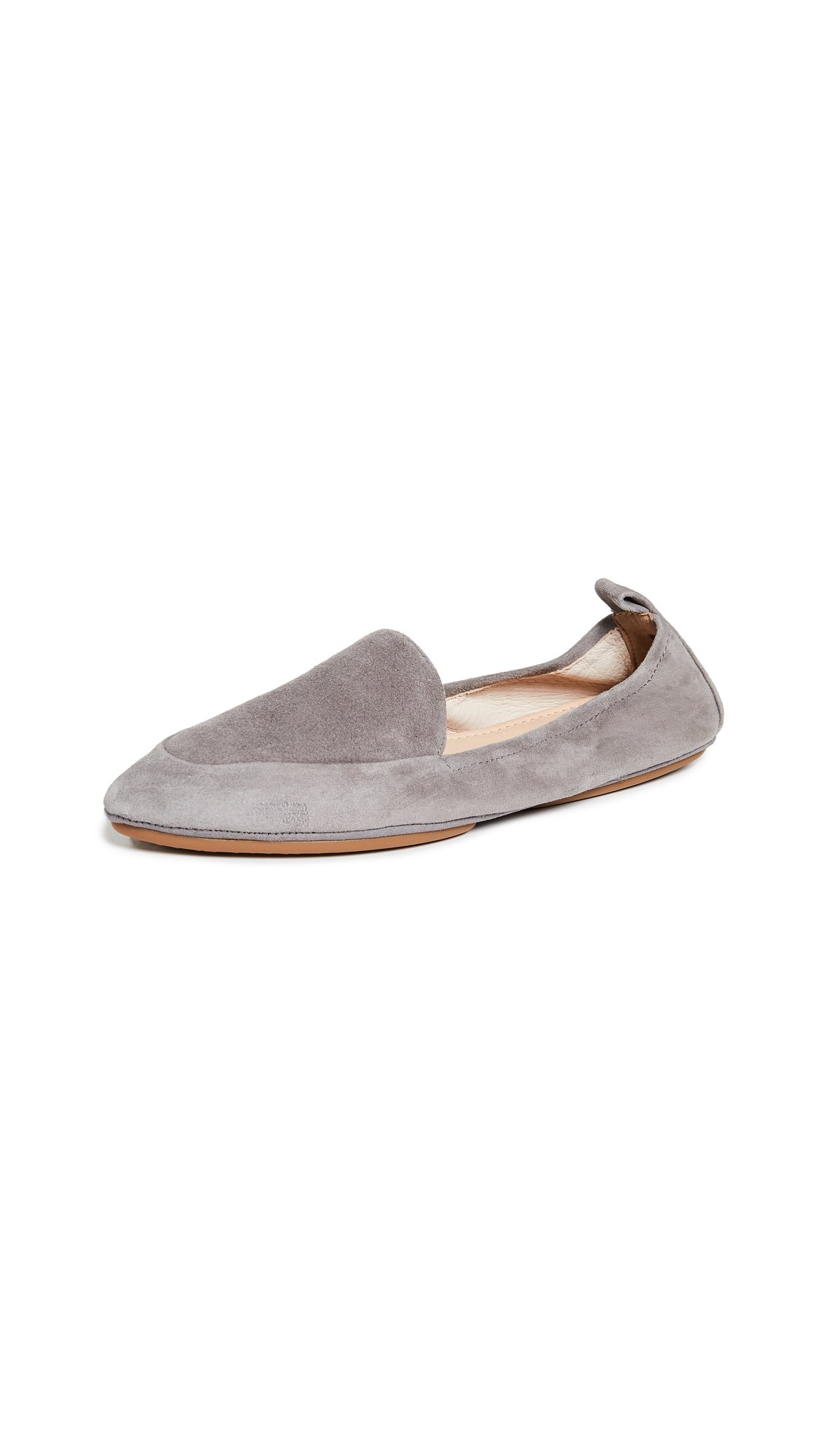 Yosi Samra Skyler Loafers In Dark Grey