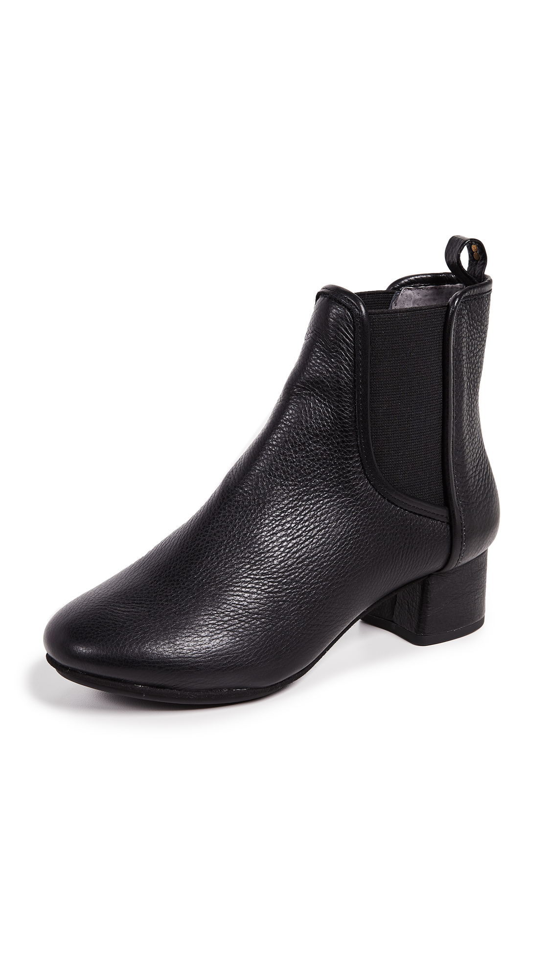 Yosi Samra Penelope Block Heel Booties In Black