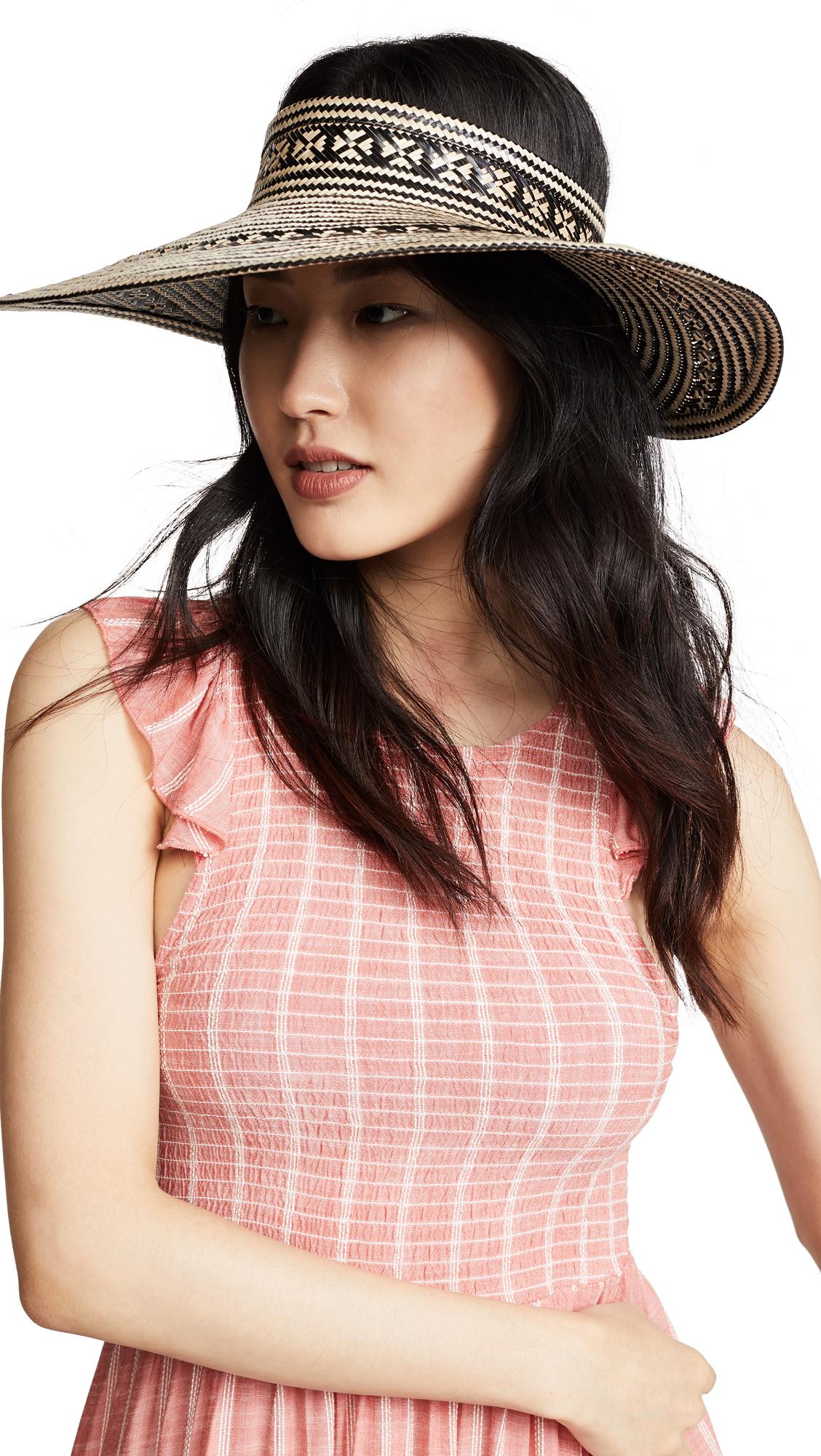 YOSUZI Kiera Hat In Black/Multi