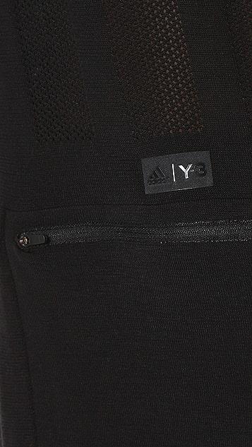 Y-3 Sport Merino Long Sleeve Tee