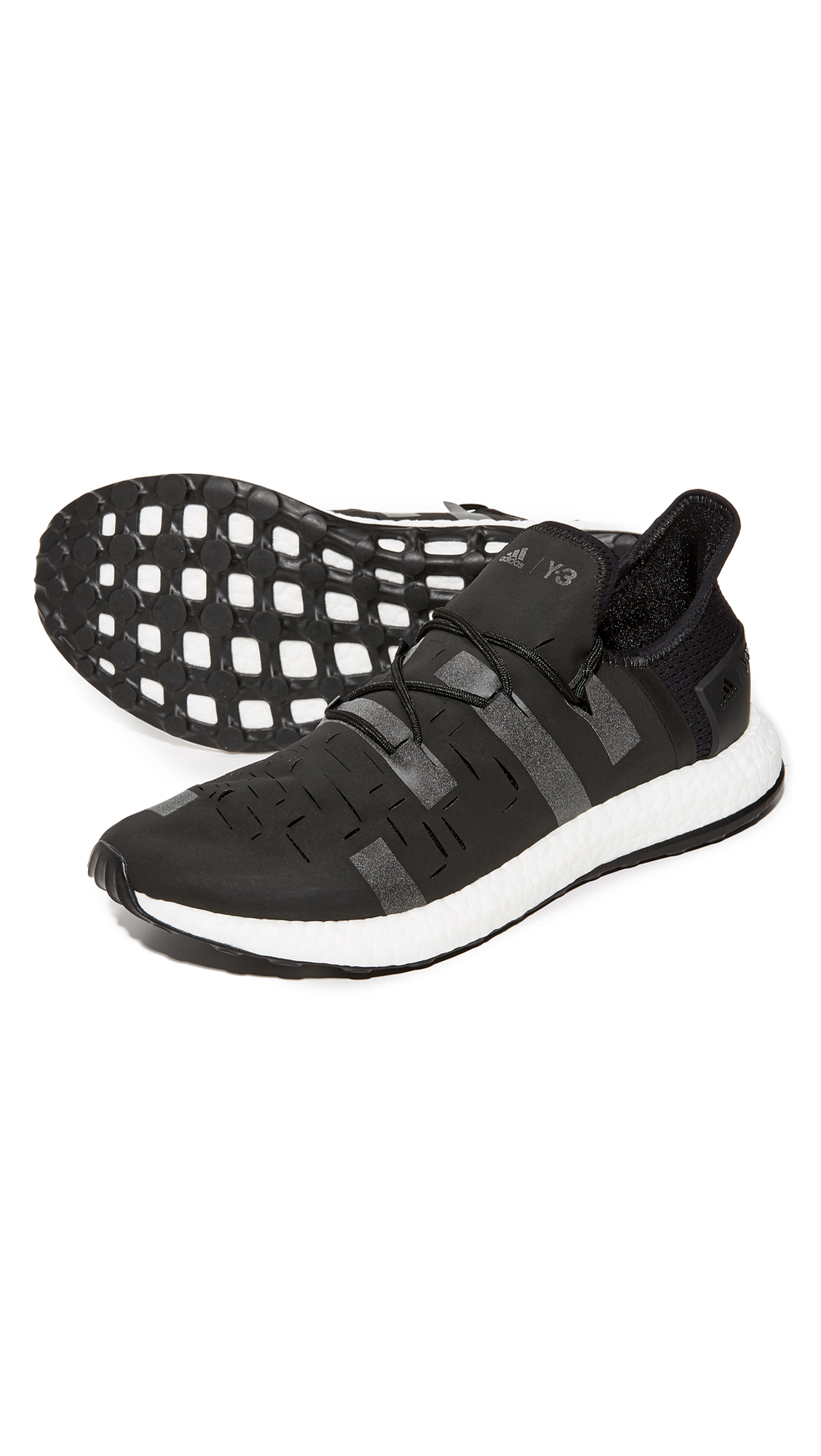 Y-3 Black Approach Low Sneakers