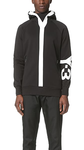 Y-3 Y-3 Logo Hooded Sweatshirt