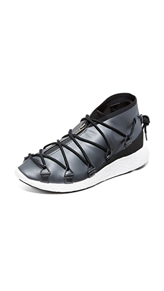 Y-3 Y-3 Cross Lace Runner Sneakers - Night Met/Core Black/Midnight