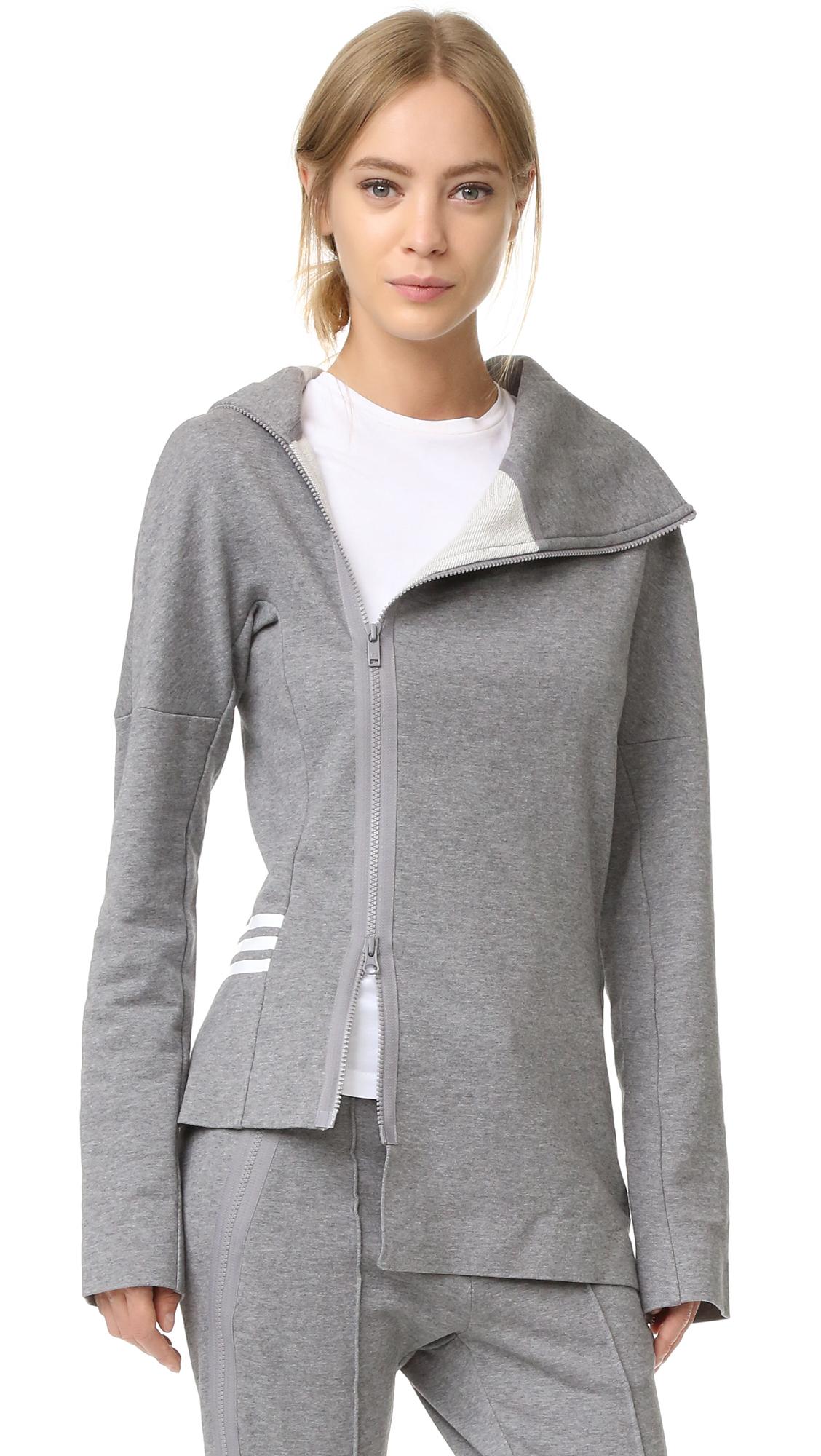 Y-3 Y-3 Frost Zip Top - Medium Grey Heather