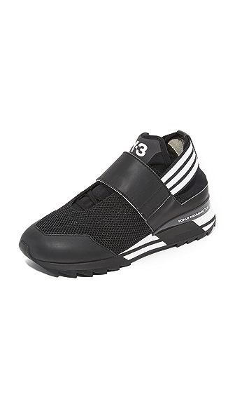 Y-3 Y-3 Atira Sneakers - Black/White