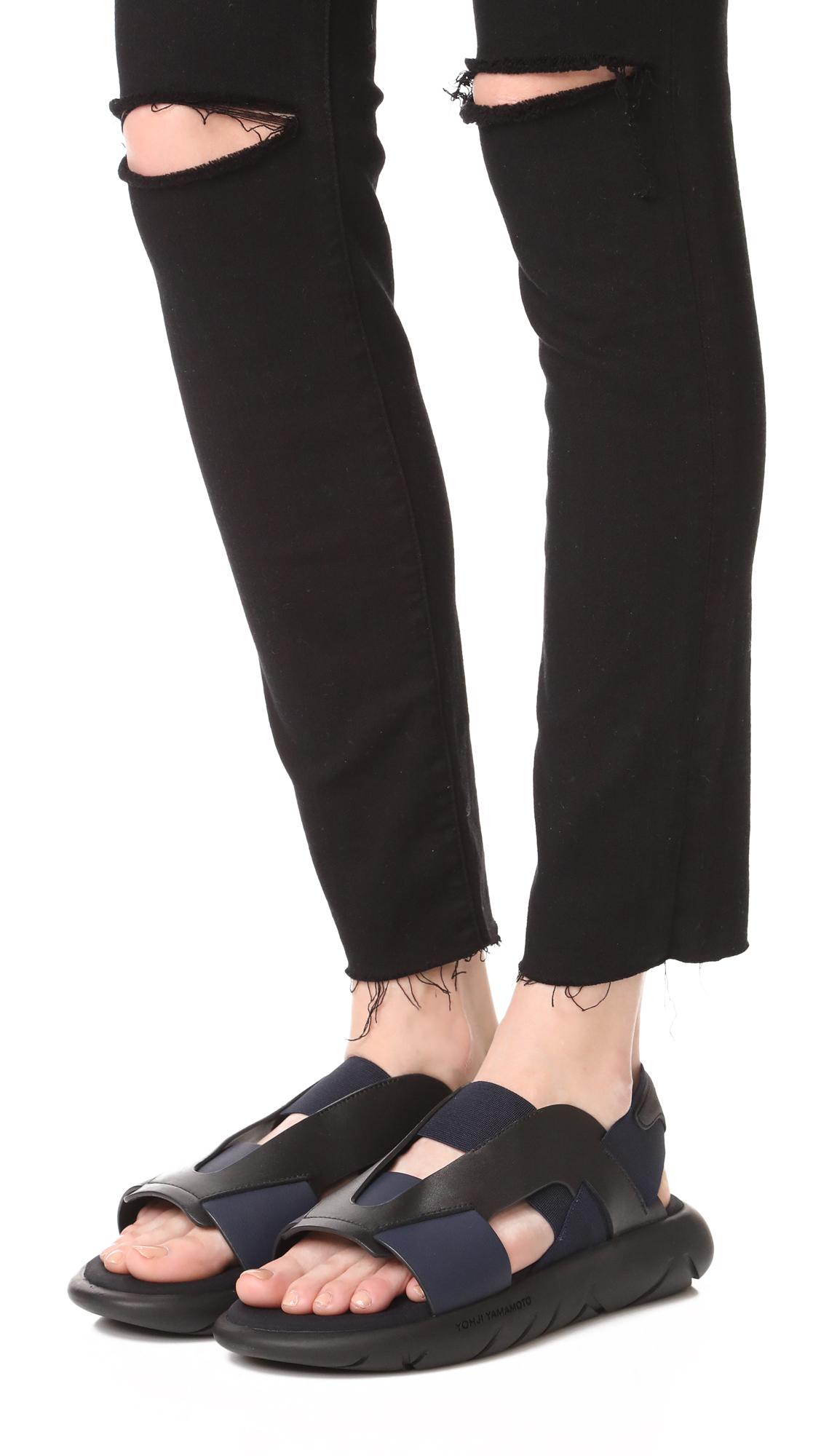 e248e3c8d Y-3 Y-3 Qasa Elle Sandals