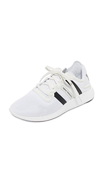Y-3 Y-3 Yohji Runner Sneakers - White/Crystal White/Black