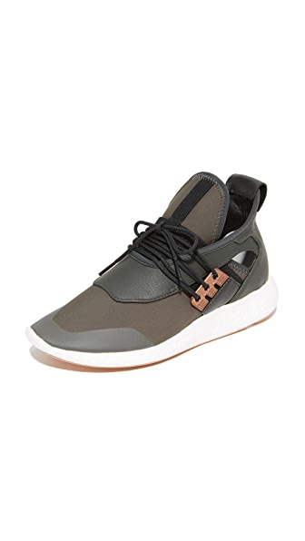 Y-3 Y-3 Elle Run Sneakers - Black Olive/Copper Met/Black