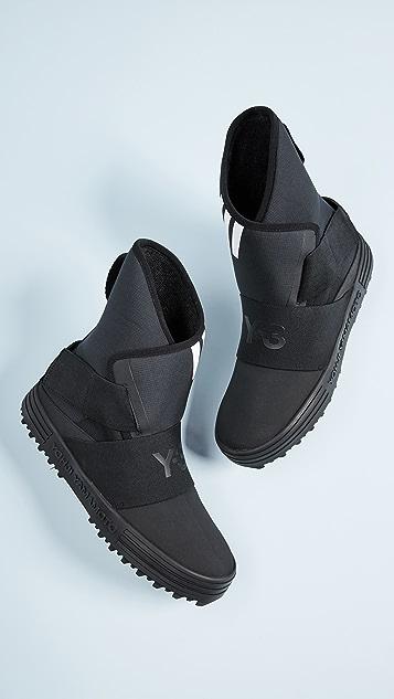 Y-3 Y-3 New Snow Foxing Strap Sneakers